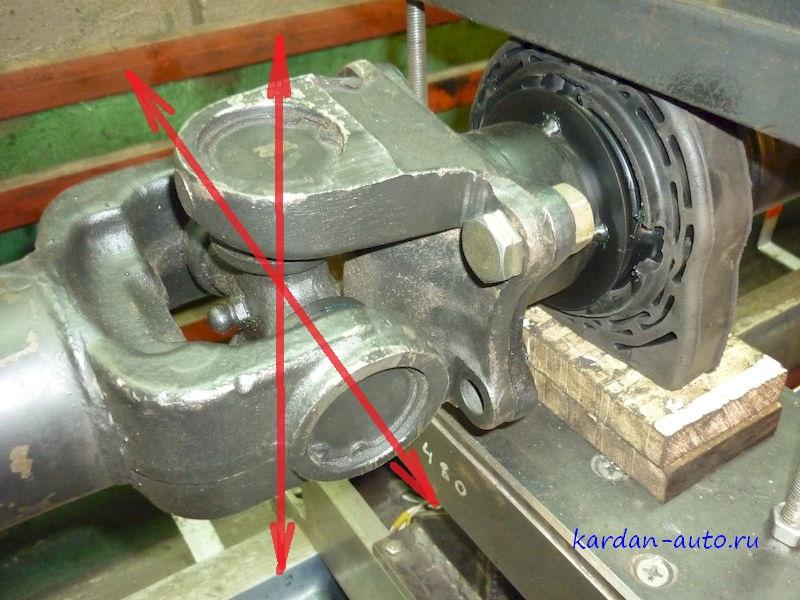 Регулировка преднатяга крестовины карданного вала